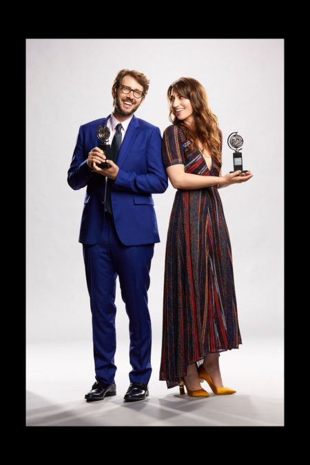 Tony Awards 2018 - Sara Bareilles - Josh Groban 6/18 - Cliff Lipson / CBS