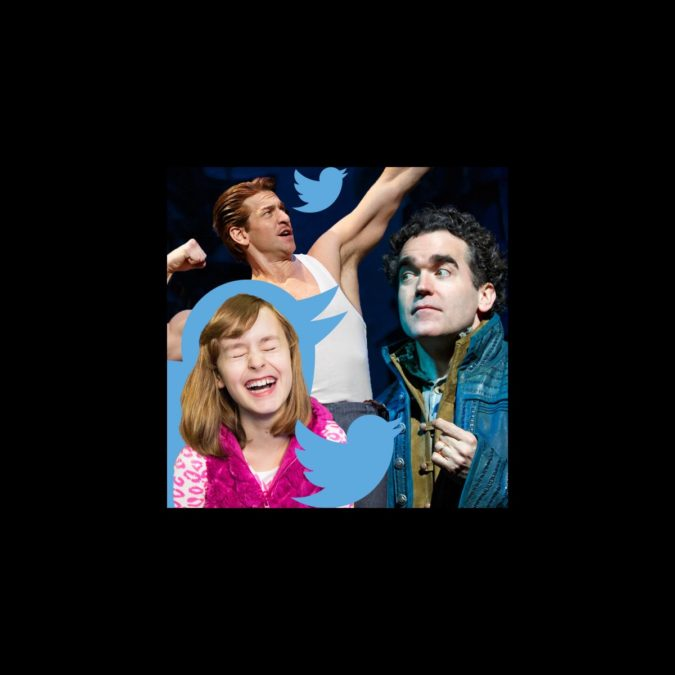 Tony Nomination - Twitter - Reactions - Andy Karl - Sydney Lucas - Brian d'Arcy James