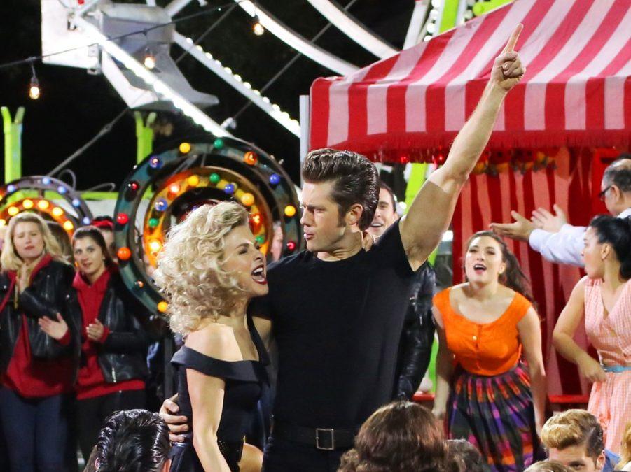 PS - Grease Live - Aaron Tveit - Julianne Hough - 2/16 - Kevin Estrada/FOX