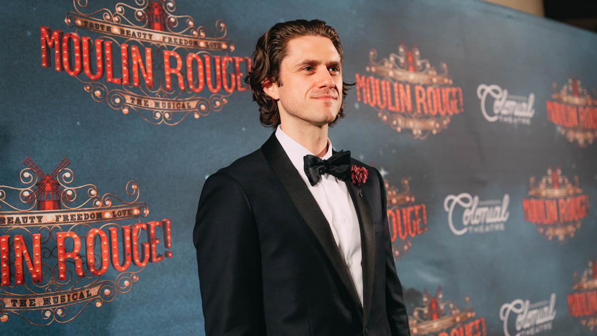 Moulin Rouge Boston Opening - Aaron Tveit - 7/18 - EMK