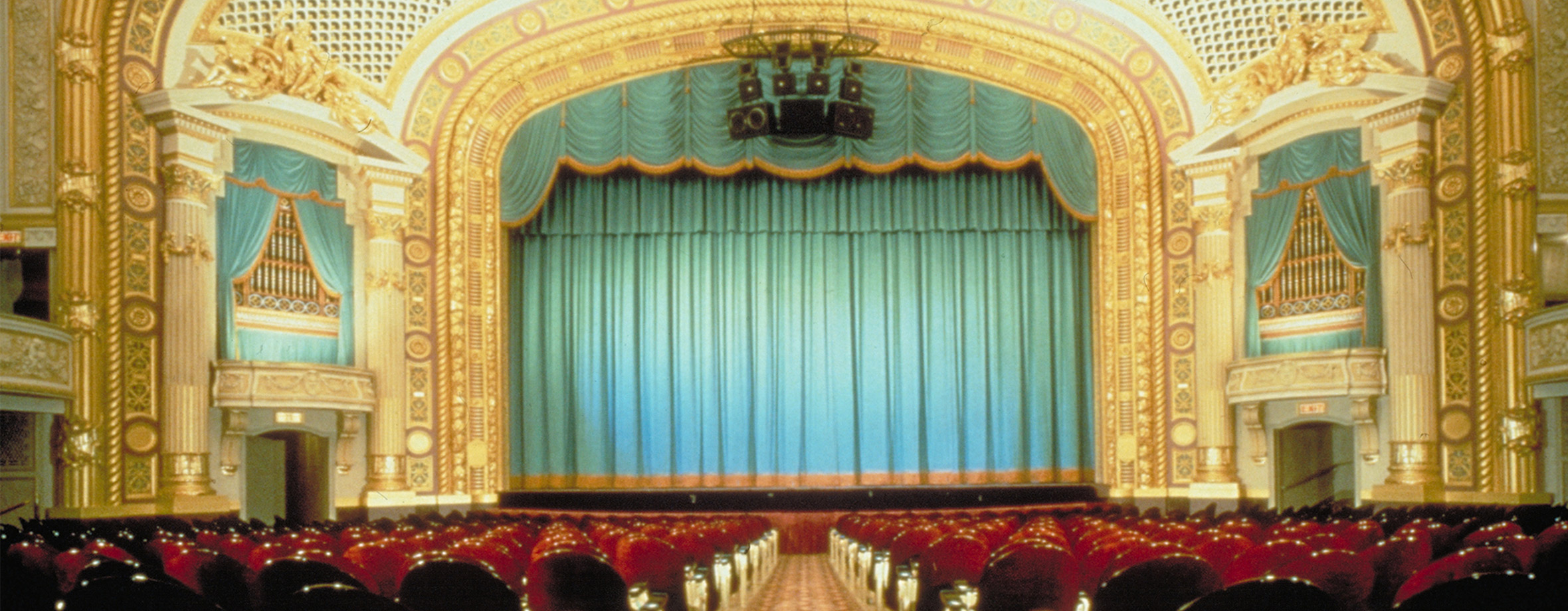 Orchestra view of the State Theatre