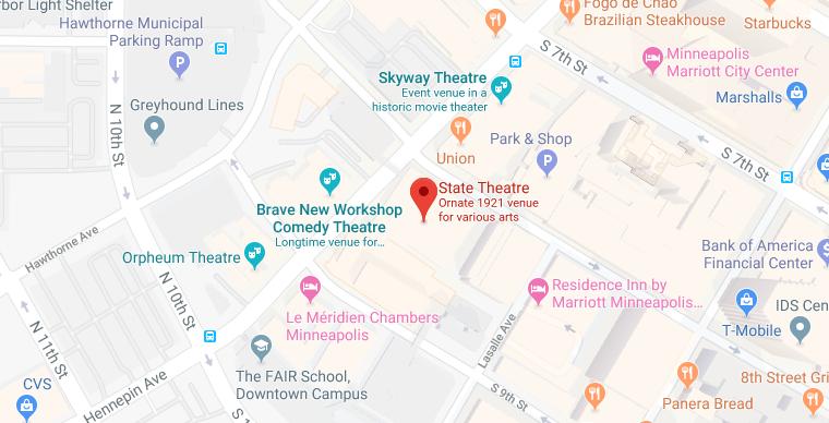 State Theatre location